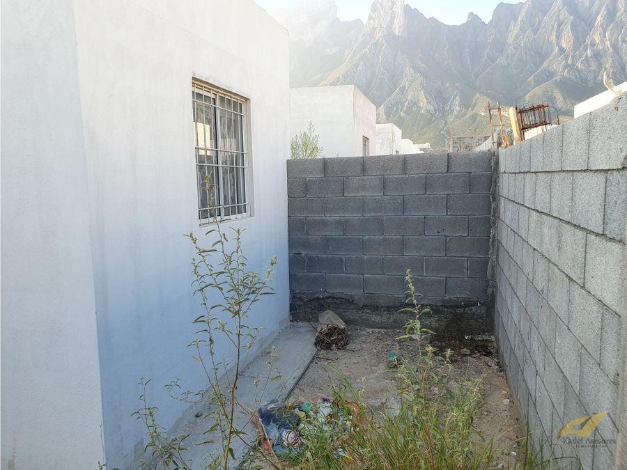 venta de casa en residencial los encinos garcia nuevo leon