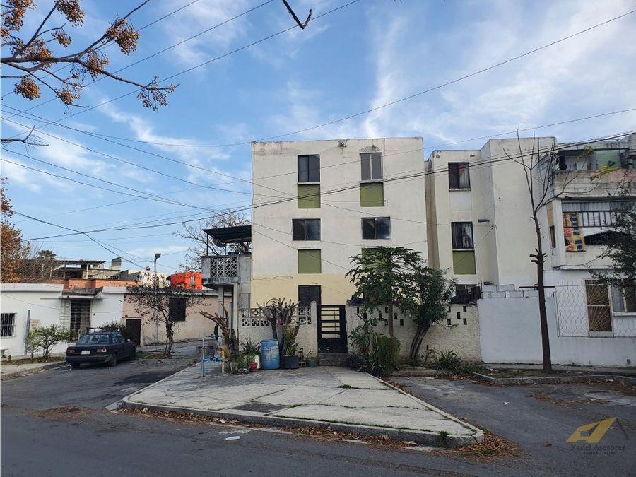 venta de departamento en residencial azteca guadalupe nuevo leon