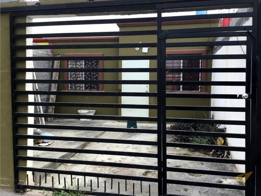 venta de casa en col bosques de los nogales en salinas victoria nl