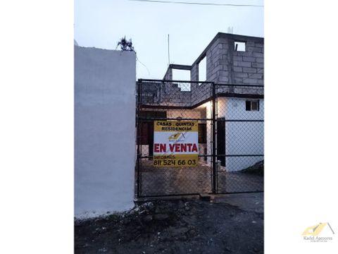 venta de casa en col san antonio en juarez nl