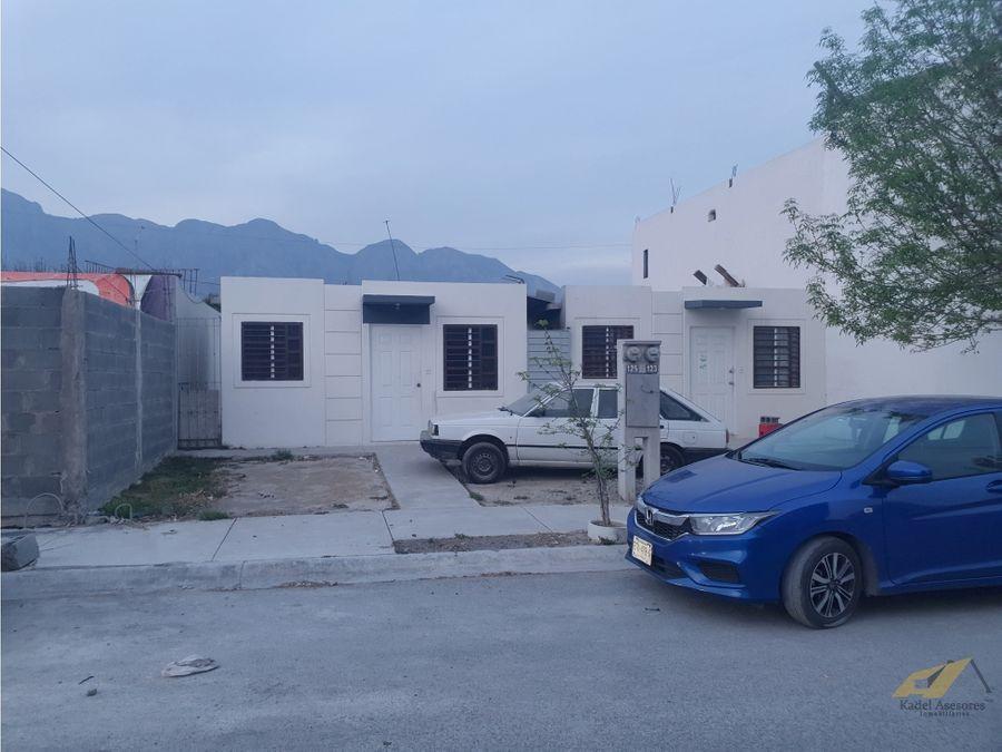 venta de casa en valle de san blas garcia nuevo leon