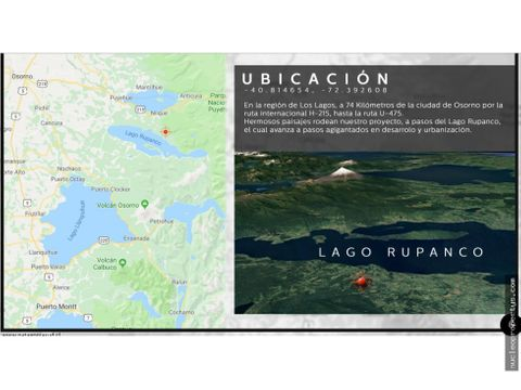 proyecto parcelas rupanco norte