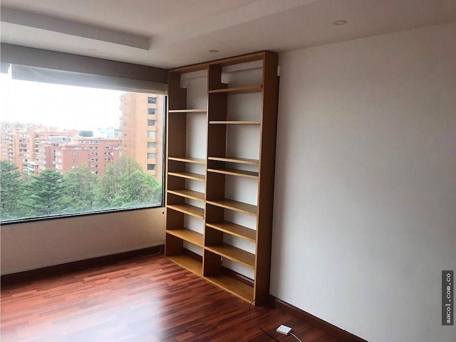 arriendo lindo apartamento en el nogal