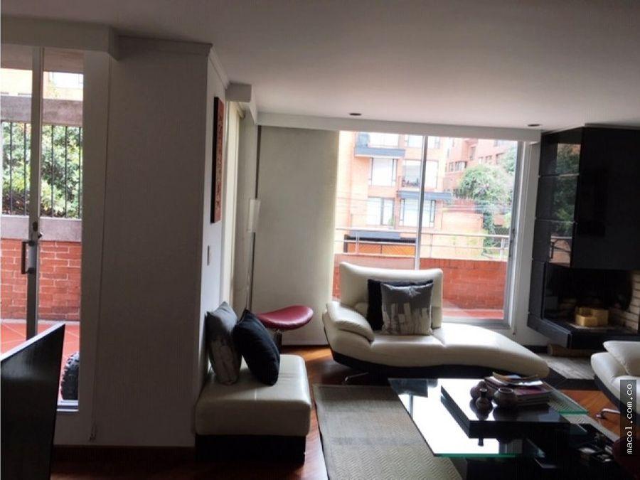 vendo o arriendo apartamento en chico navarra con terraza