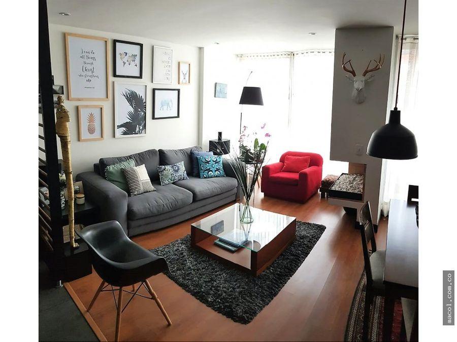 vendo apartamento duplex en santa barbara