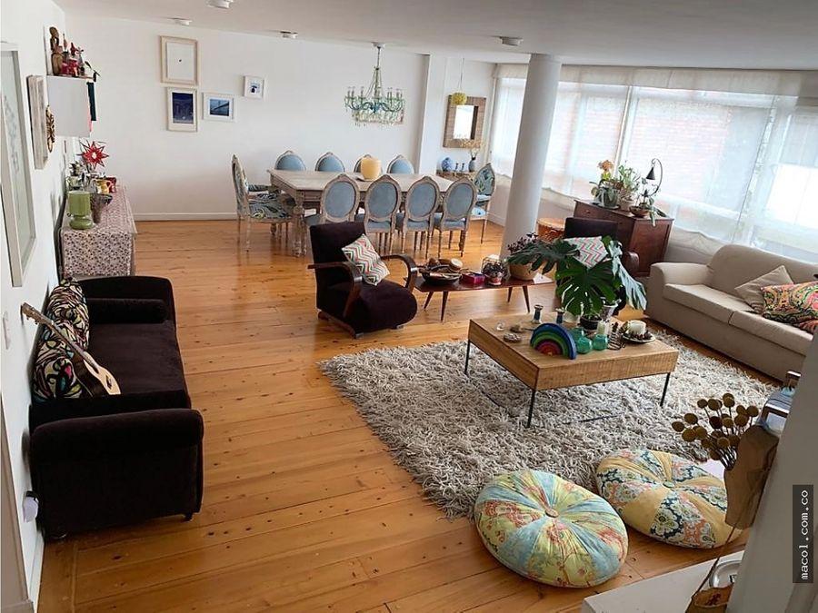 arriendo excelente apartamento remodelado en chapinero