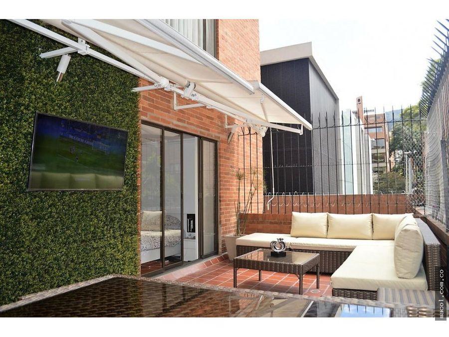 vendo excelente apartamento con terraza en la cabrera