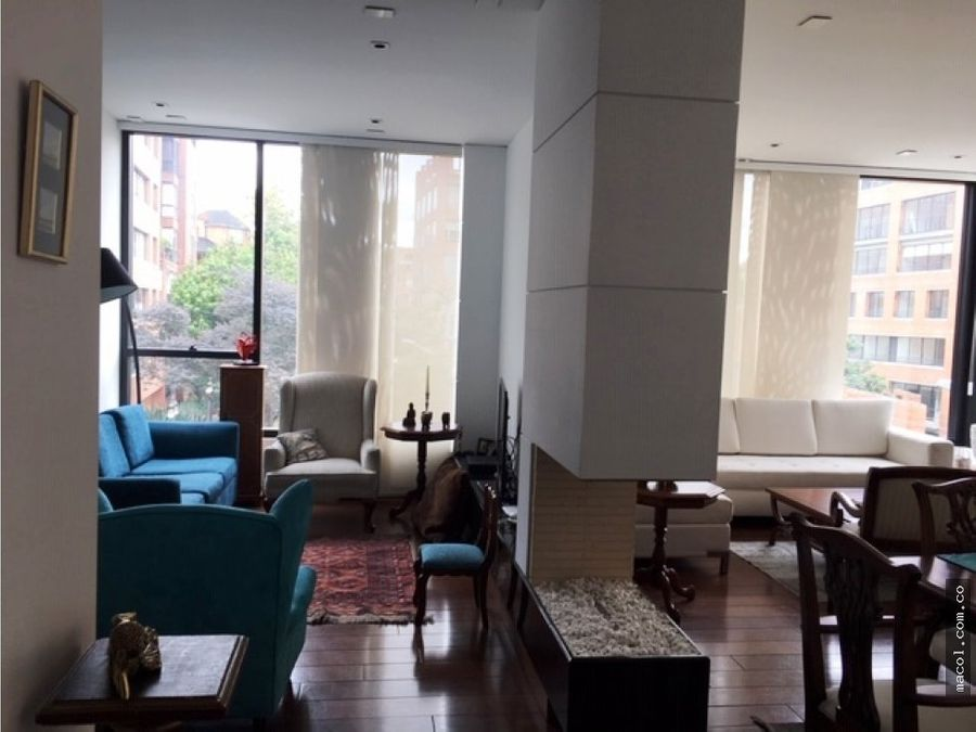 vendo excelente apartamento en el nogal rosales