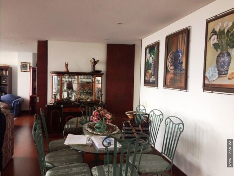 vendo lindo pent house en chapinero alto