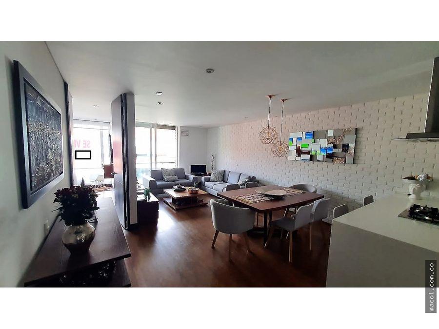 vendo excelente apartamento con terraza amplia en santa paula