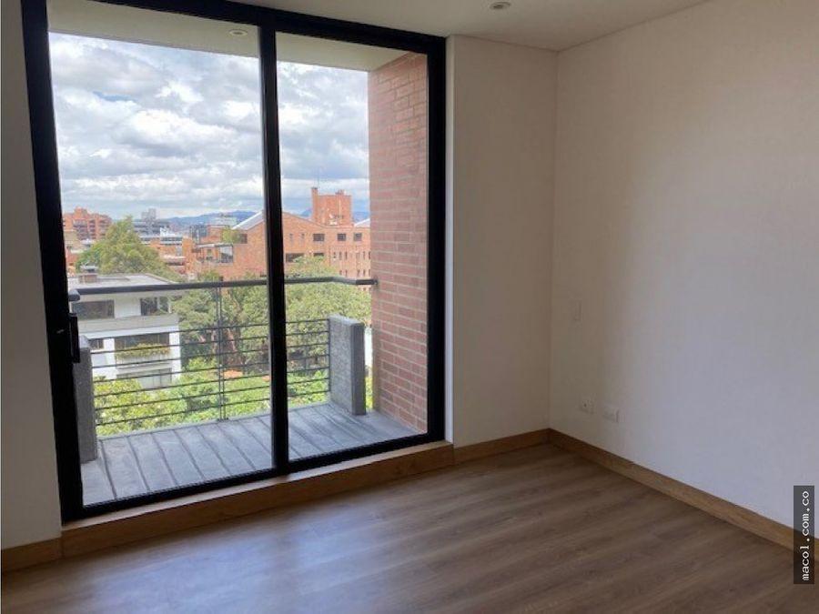 vendo excelente apartamento con terraza en el nogal