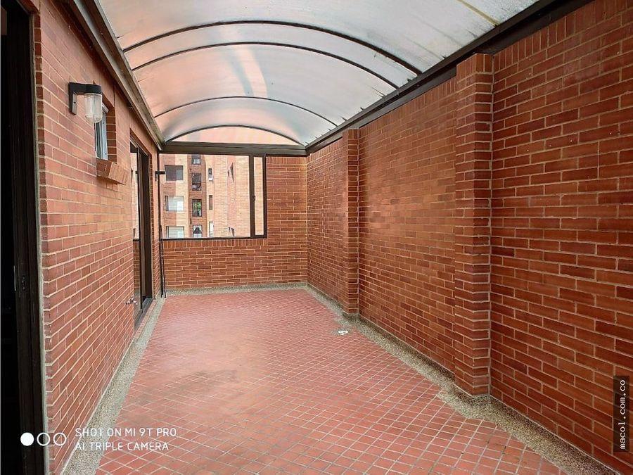 vendo o arriendo apartamento con terraza santa paula