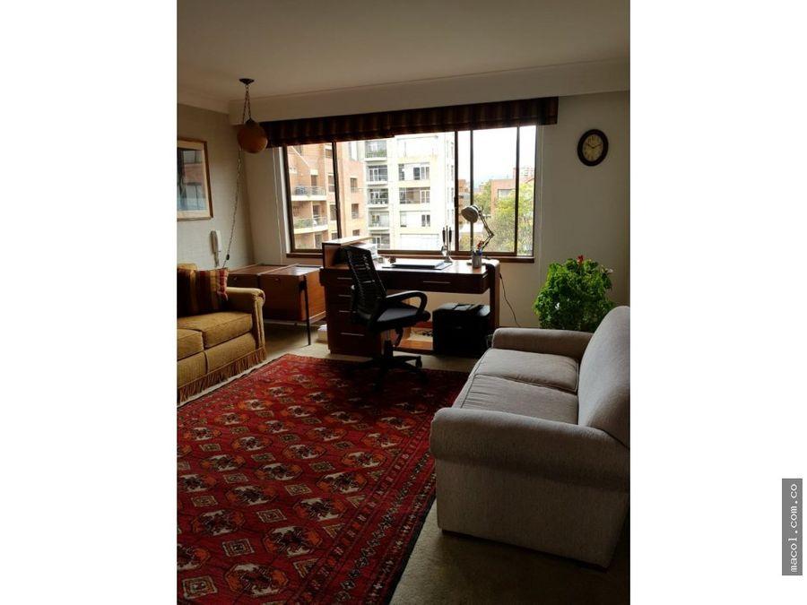 vendo excelente apartamento en el nogal