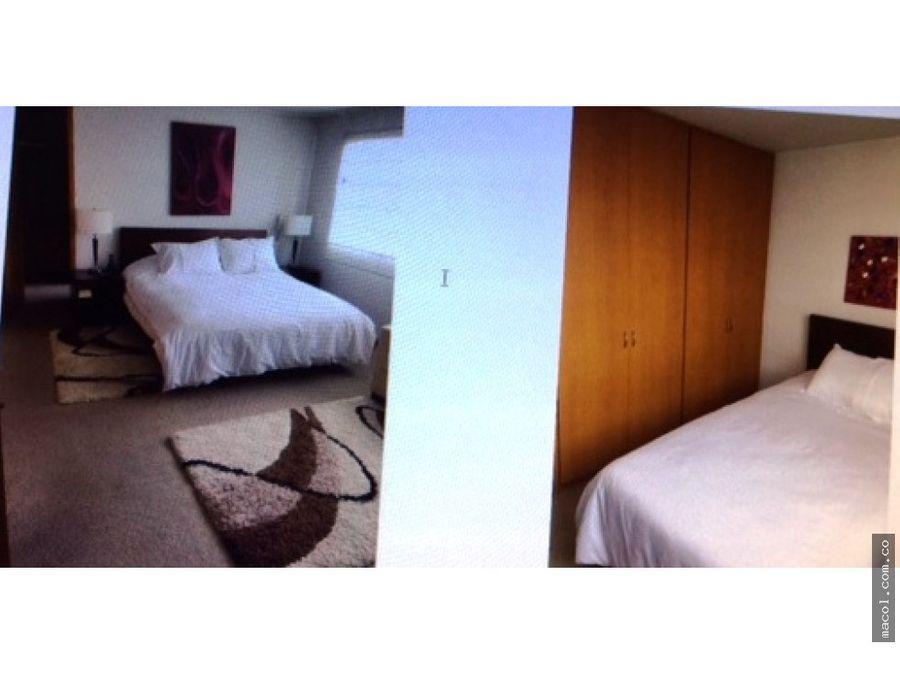 vendo apartamento amoblado en centro internacional