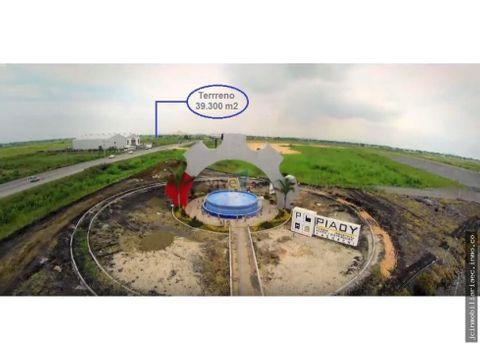 jc vende terreno industrial via duran yaguachi