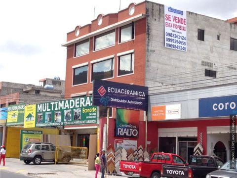 jc vende edificio comercial en avenida occidental