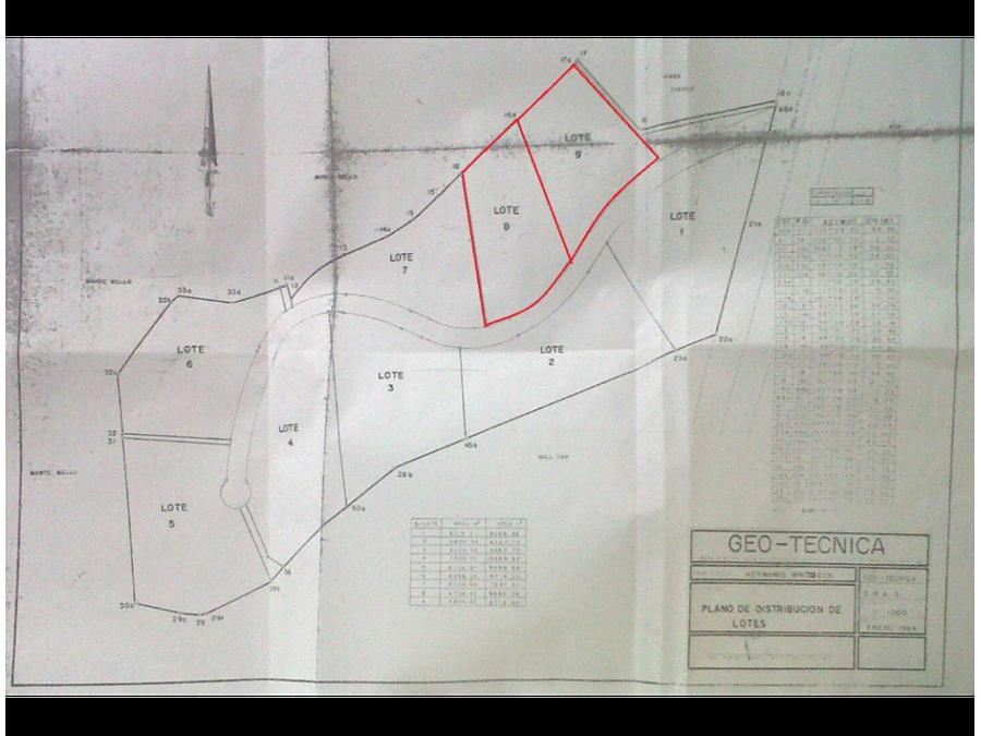 terreno en venta vecino a vistal valle caes c1