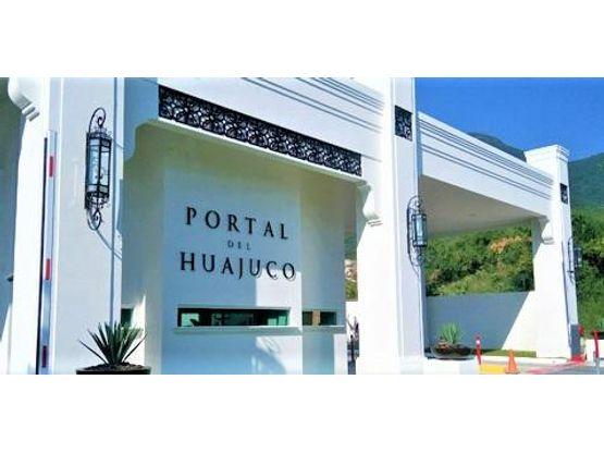 terreno en venta en portal del huajuco carretera nacional monterrey
