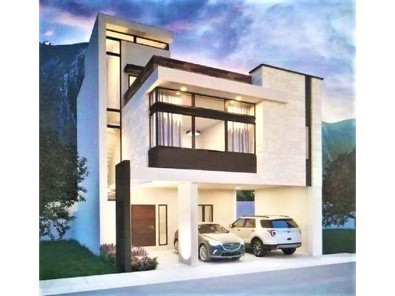 casa nueva en venta en dominio cumbres santoral garcia nuevo leon