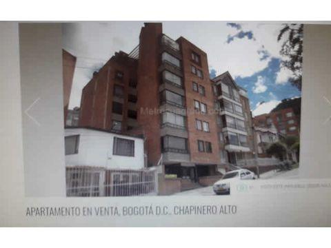 apartamentos en chapinero alto venta