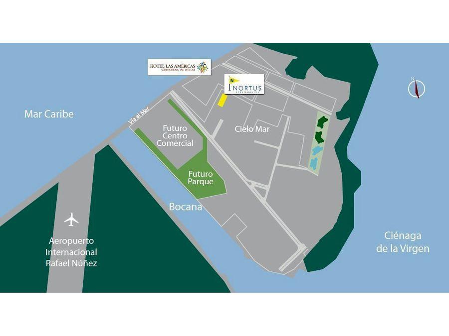 nortus apartamentos proyecto en venta en cielo mar cartagena