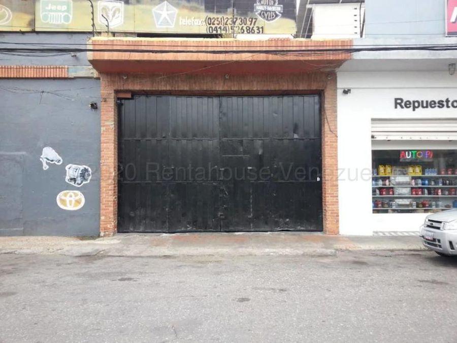 galpon industrial en alquiler barquisimeto rah 20 24247