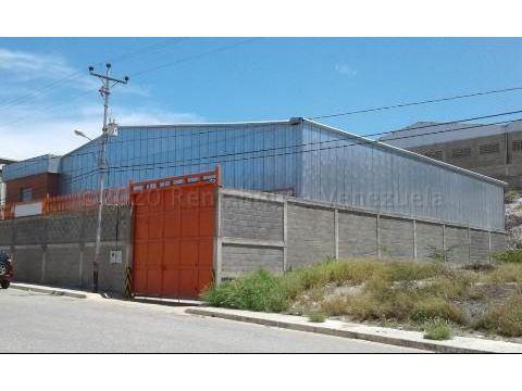 galpon industrial en venta barquisimeto rah 20 24361