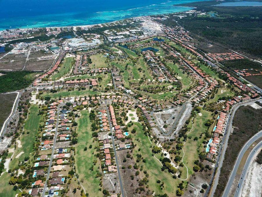 villa de 3 hab y vista al campo de golf
