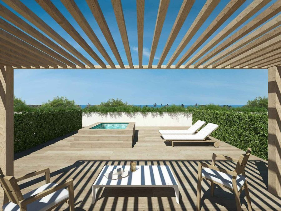 proyecto nuevo de apartamentos de 2 hab cerca de la playa