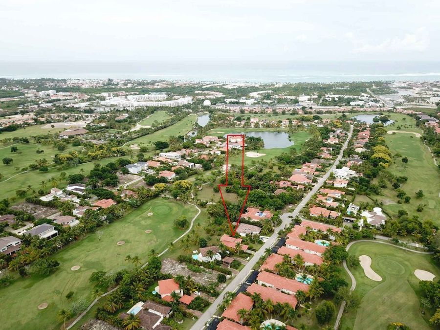 villa de 3 hab con la vista al campo de golf