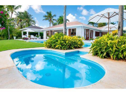 villa hermosa con 4hab con vistas al mar caribe