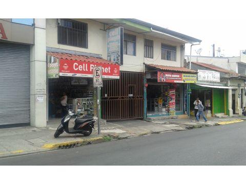 venta de propiedad con parqueo y apartamentos en san jose centro