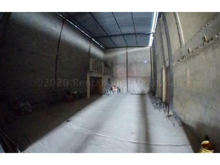 galpon en alquiler zona industrialrah 21 2493 rde