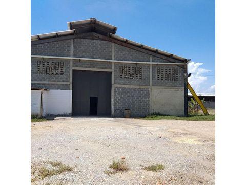 se alquila galpon zona industrial barquisimeto rah 21 17953 rde