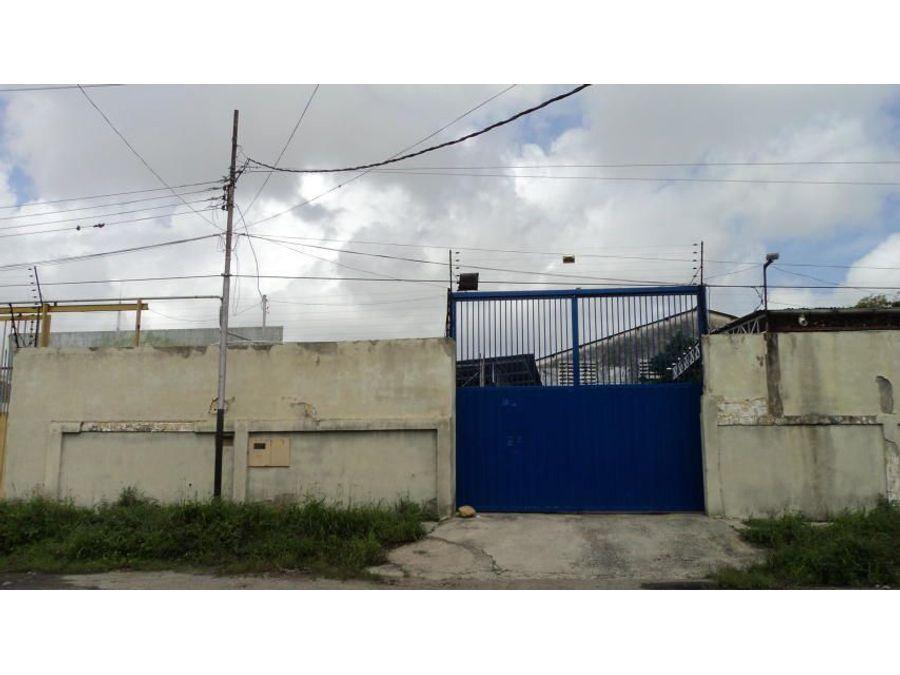 en venta galpon en zona industrial barquisimeto rah 21 6539 rde