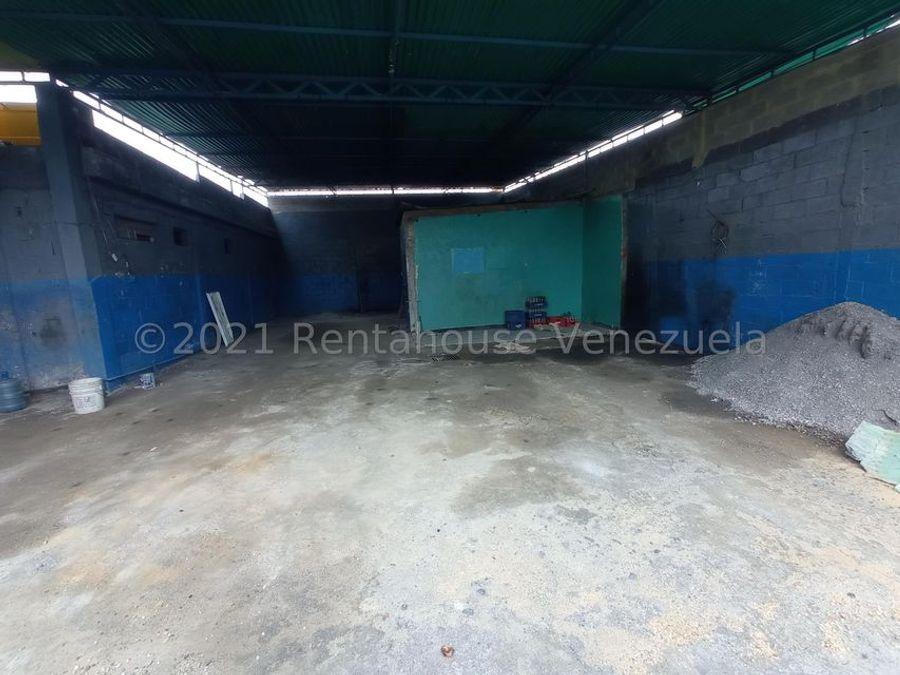 rde en venta galpon en zona industrial barquisimeto rah 21 22678