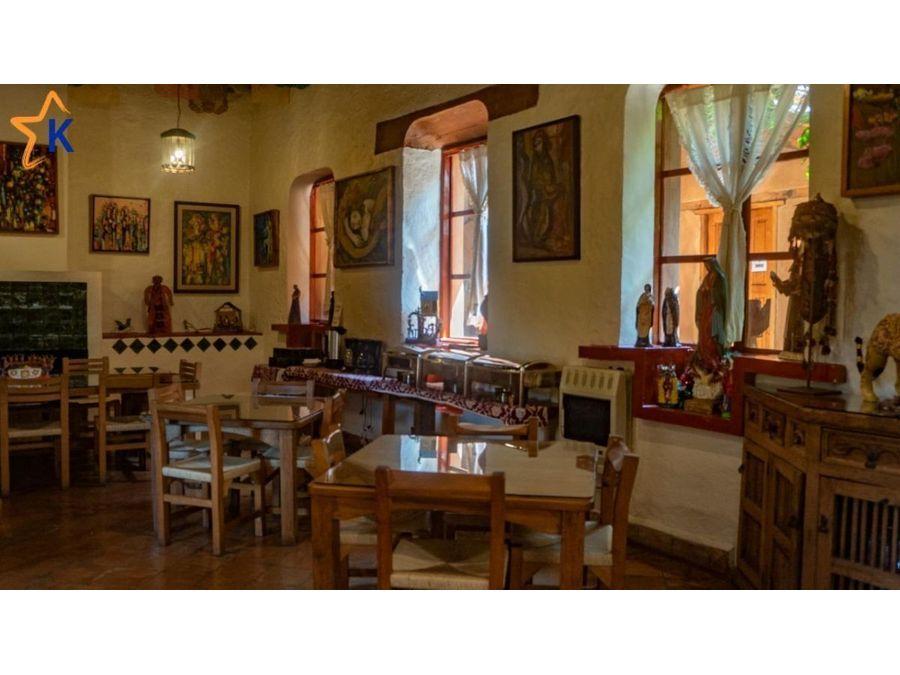 hotel colonial en venta en el centro de patzcuaro