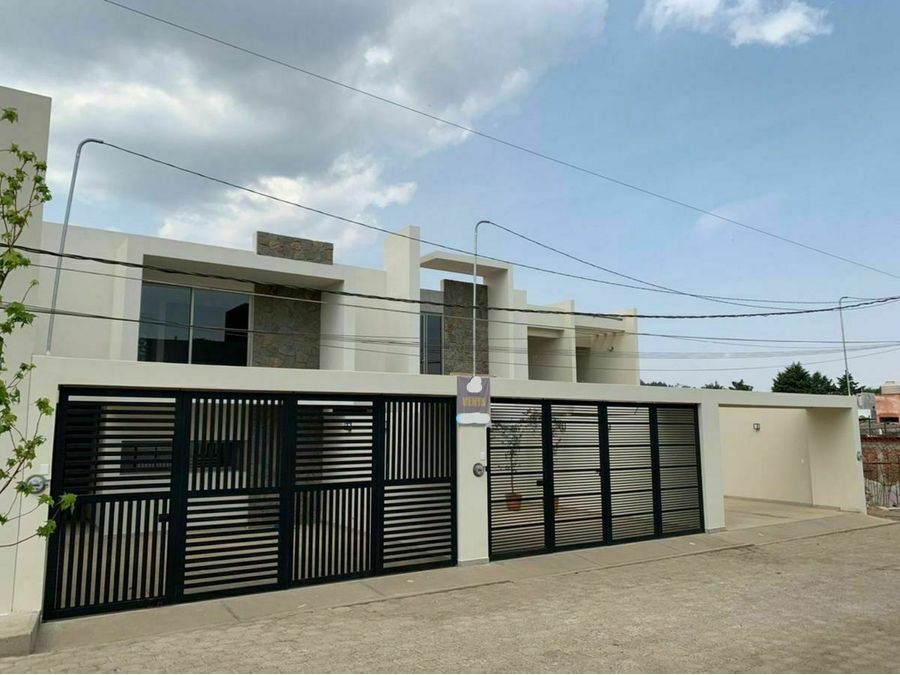 casa nueva en venta con jardin patzcuaro col la joya