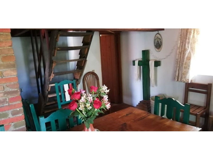 cabana con jardin en venta patzcuaro