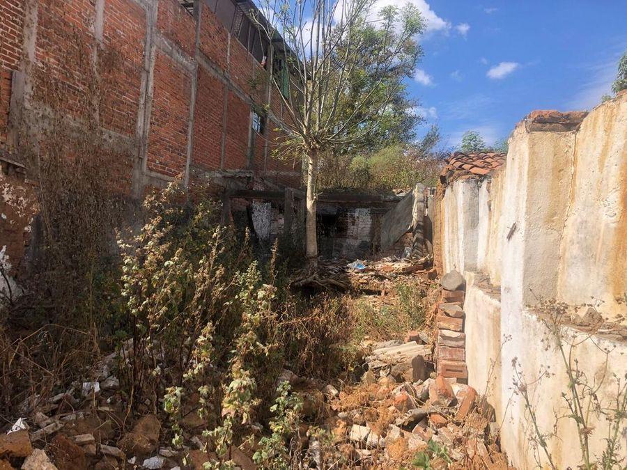 oportunidad terreno en venta centro patzcuaro