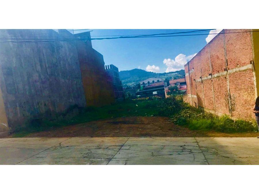 terreno en venta en patzcuaro