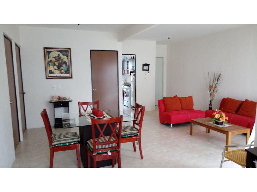 departamento amueblado en villas yazmin yautepec