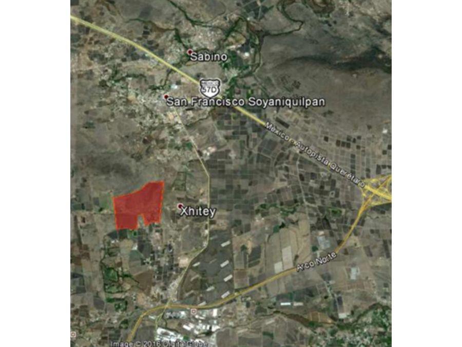 36 hectareas para desarrollo de 1800 viviendas