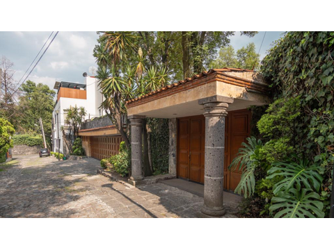 espectacular residencia unica en san angel