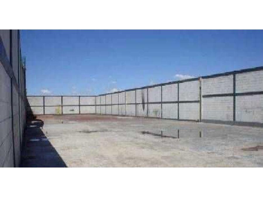 bodega planta industrial a 15 minutos del aeropuerto santa lucia