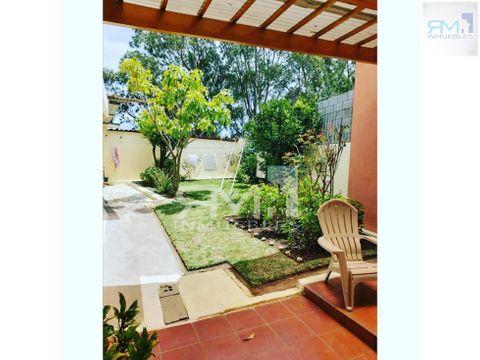 se vende casa en jardines de la asuncion zona 5