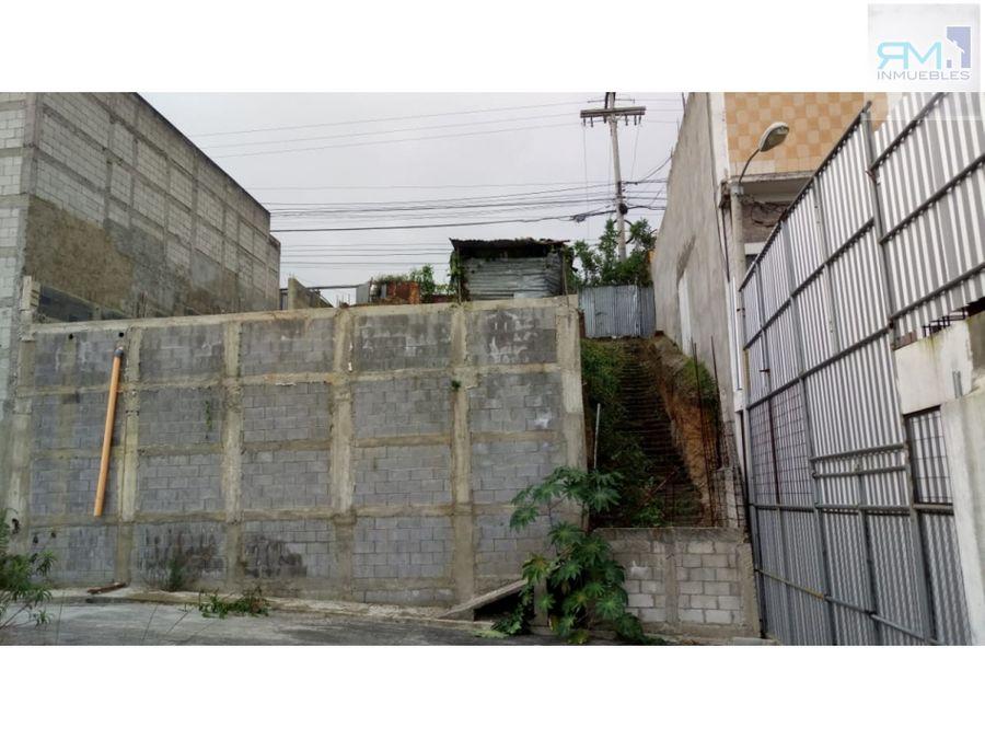 se vende 3 terrenos en ciudad san cristobal