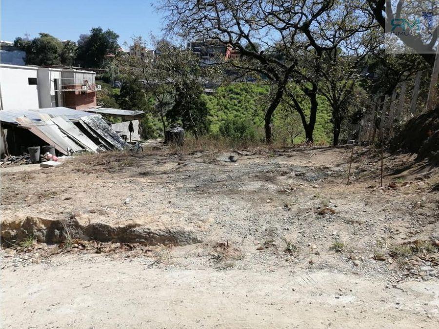 se vende terreno en encinalitos de oakland zona 10