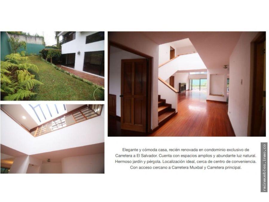 se vende linda casa en la encantada km 128 caes
