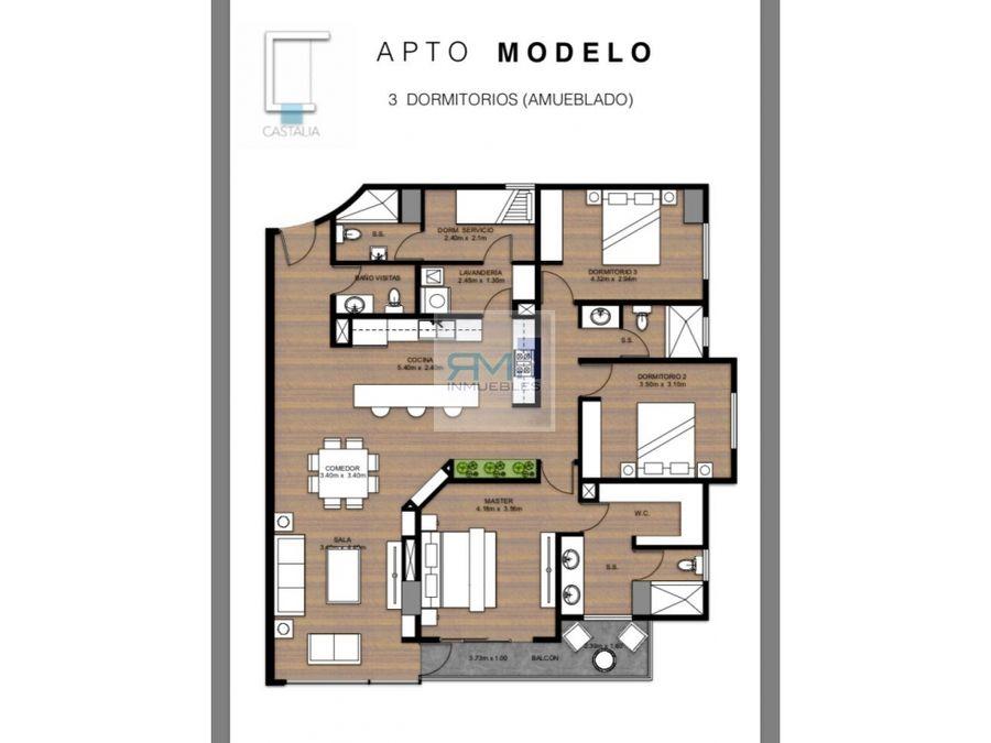 vendo apartamento en castalia zona 15 vista hermosa 2